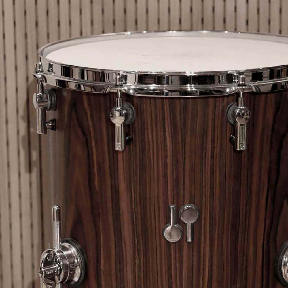 14 x 14 inches Sonor SQ2 Rosewood