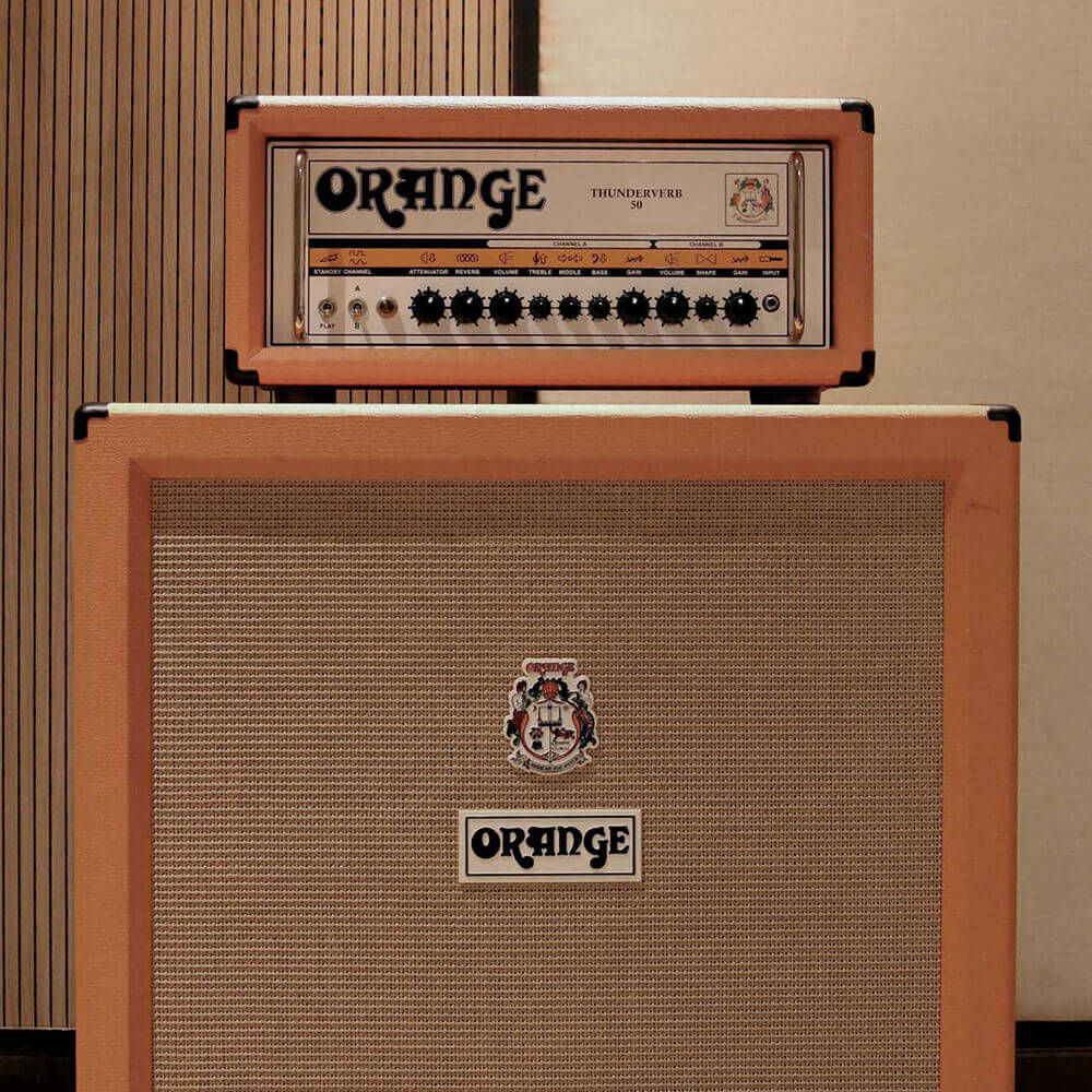 Orange Thunder REverb 50 Amplifier